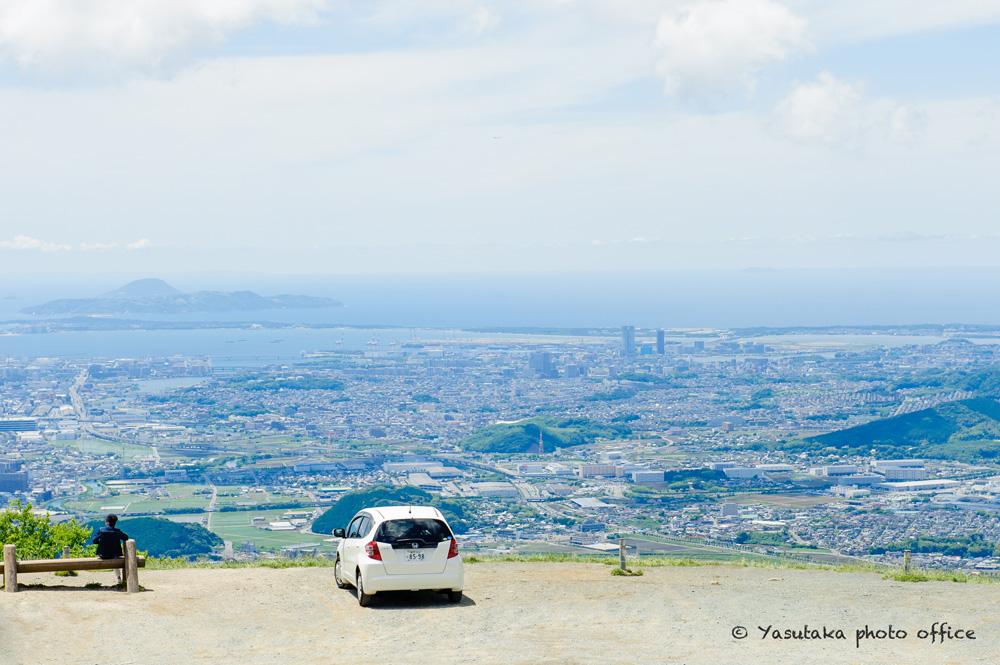 米の山展望台のロケハン