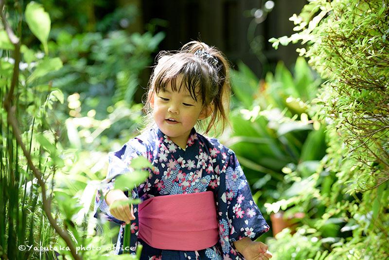 宗像市のお花屋さんGILYでの夏の撮影会