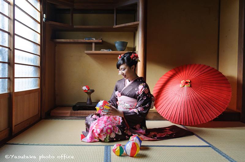 八女福島での成人式前撮り撮影