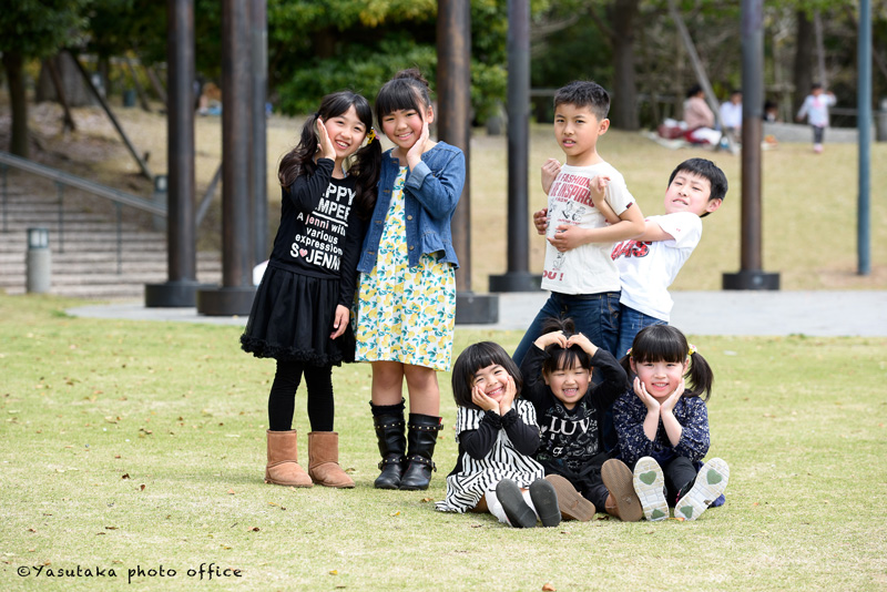長崎水辺の森公園での撮影会