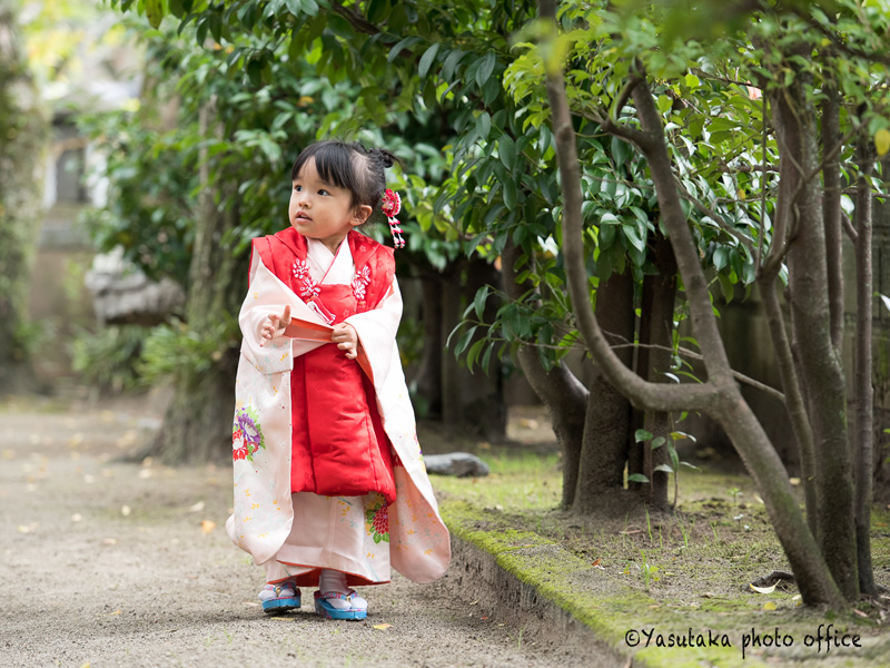 産宮神社での七五三出張撮影