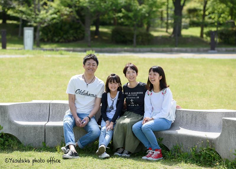 家族写真撮影・アイランドシティ中央公園