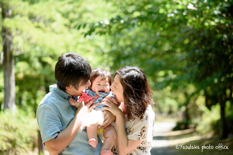 家族写真撮影・6月アイランドシティ中央公園撮影会