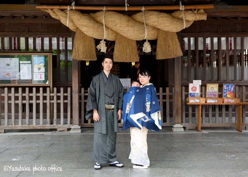 十日恵比須神社でのお宮参り出張撮影