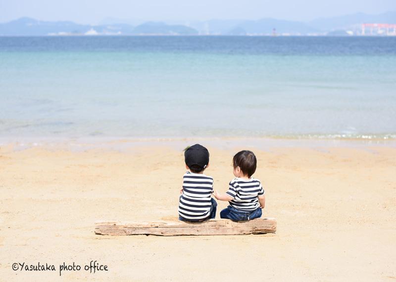 長崎伊王島でのファーストバースデー出張撮影