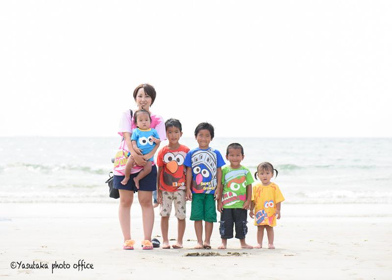 親子の日撮影会(福間海岸のカフェHOTSUNS)7月23日