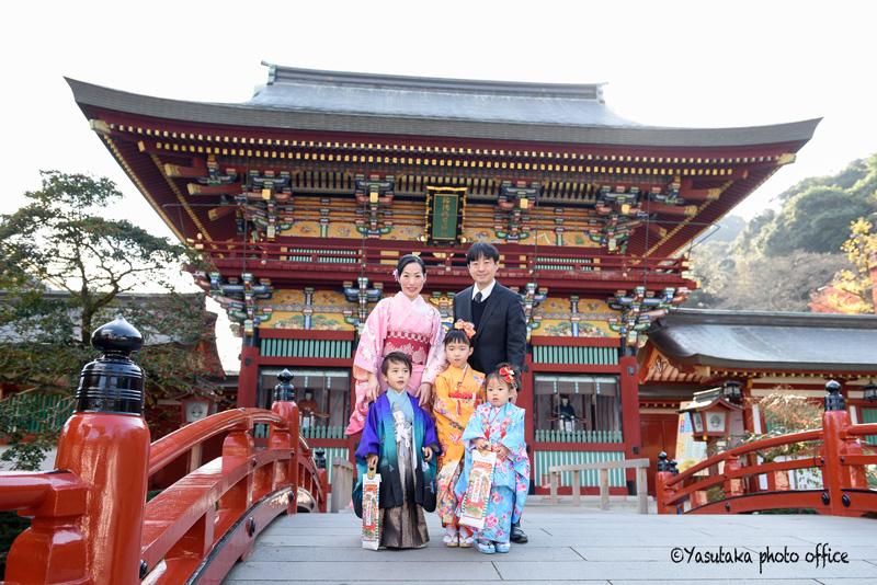祐徳稲荷神社での七五三撮影