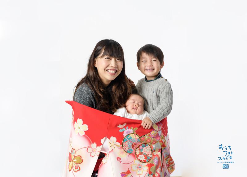 お宮参り記念撮影(2018年12月)